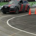 Un Audi Q5 qui conduit tout seul