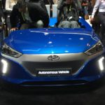 Présentation du véhicule autonome par Hyundai