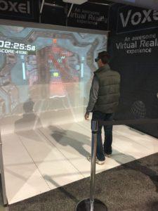 Stand Voxel: réalité virtuelle