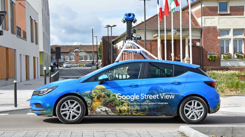 Voiture Google Street View