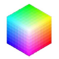carre de couleur quantifier