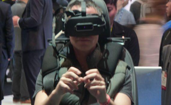 Nos propres mains dans le monde virtuelle